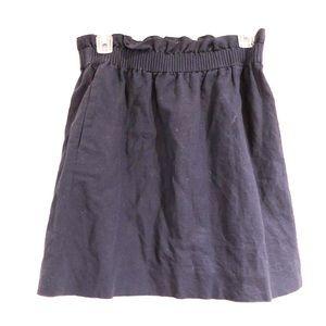 Navy blue J.Crew skirt